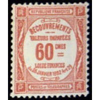 TAXE 048 ** A.GERBER Philatélie Timbre de France - Colonies - Dom tom