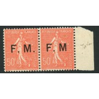 FR1285 -FM 6a -** - Sans point - TAN A.GERBER Philatélie Timbre de France - Colonies - Dom tom