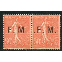 FR1289 -FM 6a+b -* - Case 98 : 1 point - Case 99 : 3 points A.GERBER Philatélie Timbre de France - Colonies - Dom tom