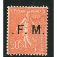 FR1291 -FM 6b -* - Point avant et après le F  A.GERBER Philatélie Timbre de France - Colonies - Dom tom