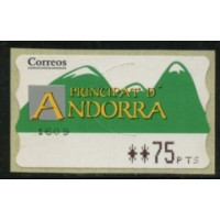Andes041a -Distribution  - - 0,75 pts  A.GERBER Philatélie Timbre de France - Colonies - Dom tom
