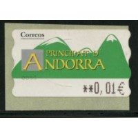 Andes043a -Distribution  - - 0,01 A.GERBER Philatélie Timbre de France - Colonies - Dom tom