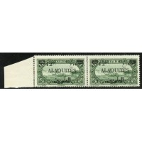 ALA017-39-**-Surcharge arabe sans point sur la monnaie - TAN - Case 37 A.GERBER Philatélie Timbre de France - Colonies - Dom tom