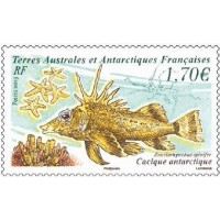 Poisson cacique antarctique  A.GERBER Philatélie Timbre de France - Colonies - Dom tom