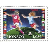 Football Féminin en France A.GERBER Philatélie Timbre de France - Colonies - Dom tom